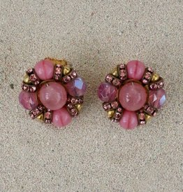 Jewelry FMaontague: Cabouchon Pink