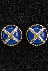 Jewelry VCExclusives: Braided Criss Cross Dark Blue Prcd