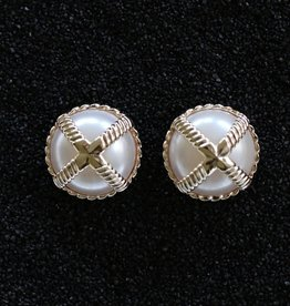 Jewelry VCExclusives: Braided Criss Cross Pearl Prcd