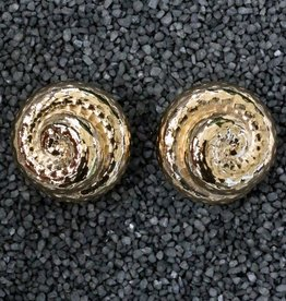Jewelry VCExclusives: Hammered Button Glod