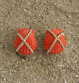 Jewelry VCExclusives: Shell Criss Cross Coral