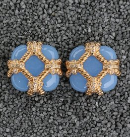 Jewelry VCExclusives: Zinnia Gold & Light Blue