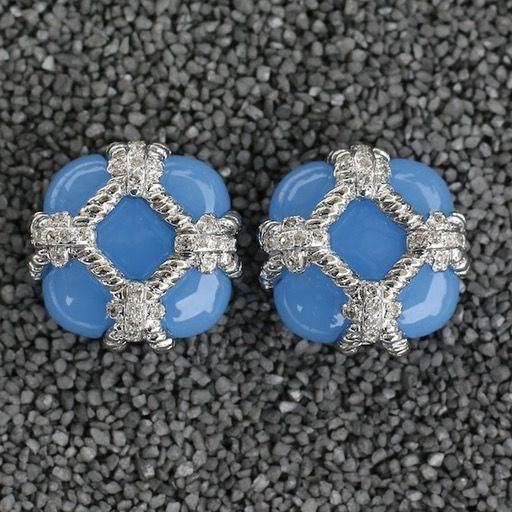 Jewelry VCExclusives: Zinnia Silver & Light Blue