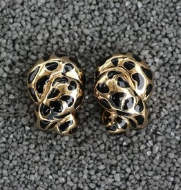 Jewelry VCExclusives: Leopard Coils Black & Gold