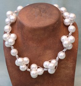 Jewelry VCExclusives: White Pearl on White Cord
