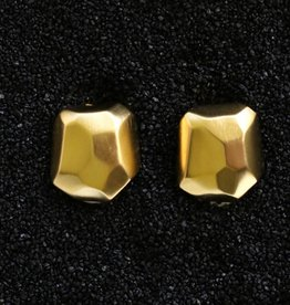 Jewelry KJLane: Hammered Gold Nugget