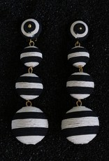 Jewelry KJLane: Lucille Balls / Black and White