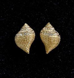 Jewelry KJLane: Conch with CZ's
