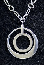 Jewelry Karin Sultan: Two Circles in Silver