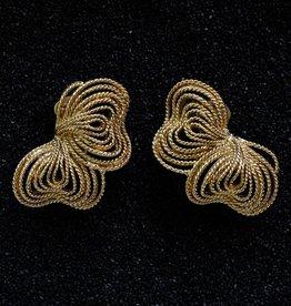 Jewelry KJLane: Gold Wire Bow