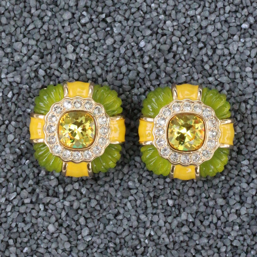 Jewelry VCExclusives: Agnes Topaz Green Yellow