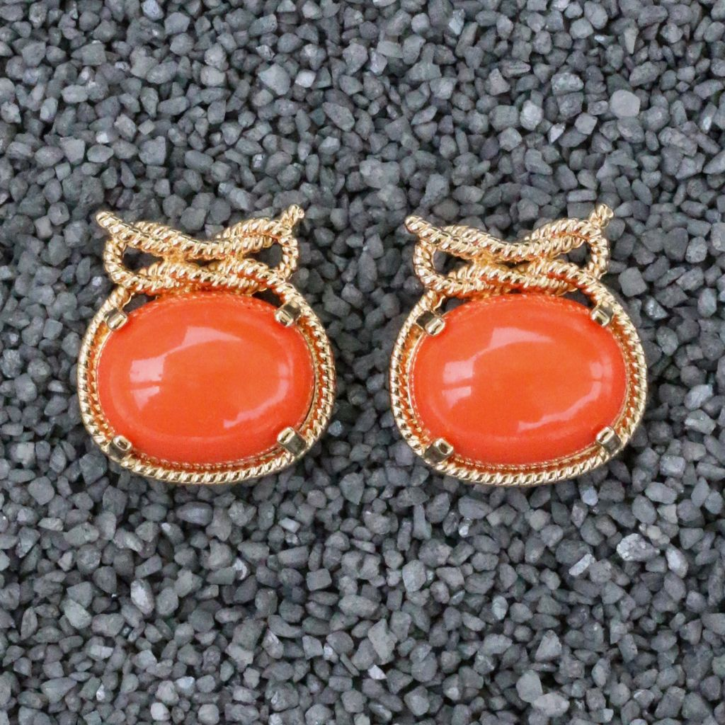 Jewelry VCExclusives: Patricia Orange with Gold Rope