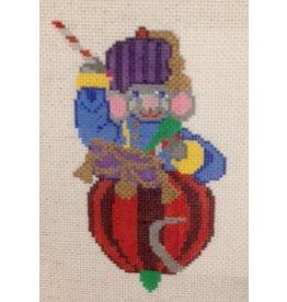 Treglown Mouse drum major ornament