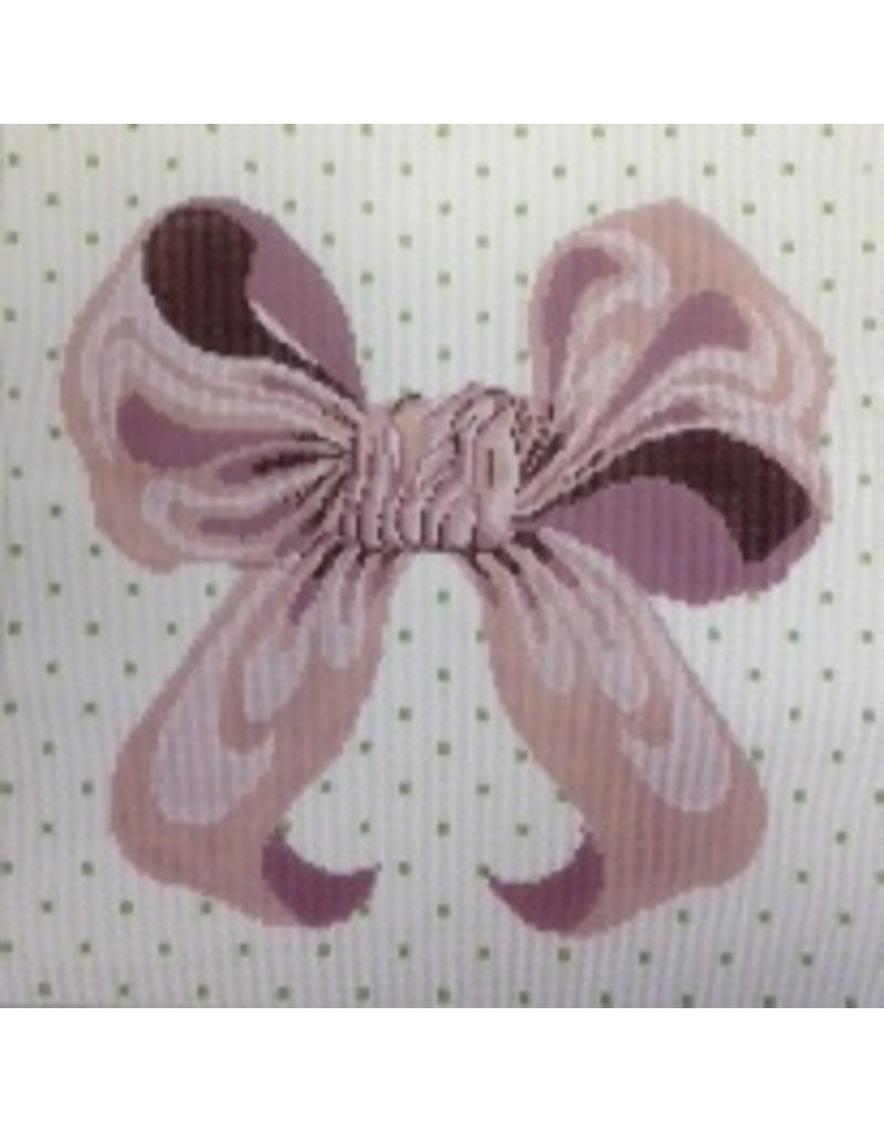 All About Stitching Pink Bow<br />