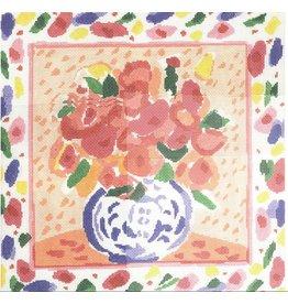 Cooper Oaks Garden Bouquet  <br />14&quot;x14&quot;