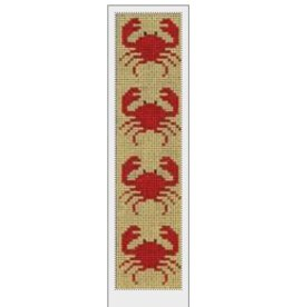 J. Child Red Crabs on Yellow Bookmark