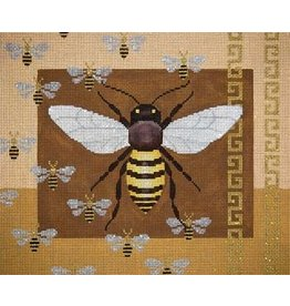 JP Needlepoint Big Bee &amp; Baby Bee<br />