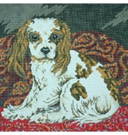 Barbara Russell King Charles Cavalier<br />12&quot;x12&quot;