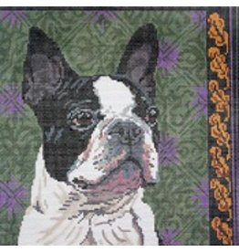 Barbara Russell Boston Terrier<br />10&quot;x10