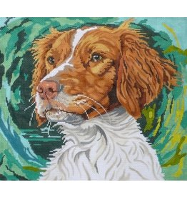 Barbara Russell Brittany Spaniel II<br />12&quot;x14&quot;