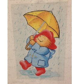Silver Needle Paddington in the Rain 4&quot;x6&quot;<br />