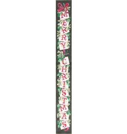 Fleur de Paris Merry Christmas bell pull