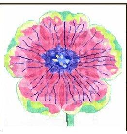 Jean Smith Designs Dazzle Petunia<br />8&quot;x8&quot;