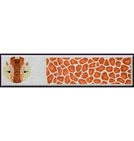 JP Needlepoint Giraffe &amp; Skins Treasure Box<br />5&quot;x16&quot;