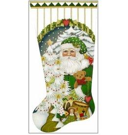 Melissa Shirley Large toyland Santa