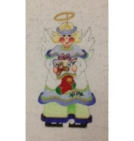 Strictly Christmas Angel w/stocking<br />