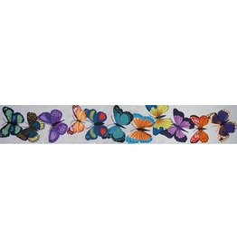 JP Needlepoint Butterfly Bell Pull II<br />
