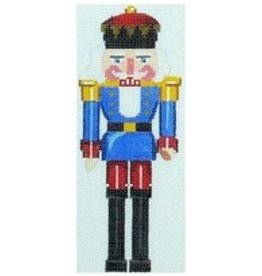 Julia Blue King Nutcracker Large Rollup 15""
