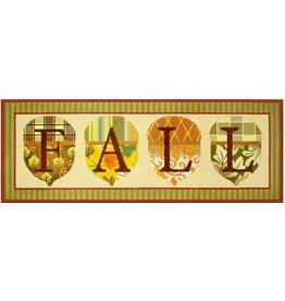 Melissa Shirley Acorn  Fall<br />17.25&quot;x6.25&quot;