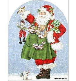 Melissa Shirley Toy Santa dome
