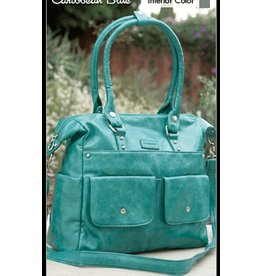 Namaste Harlow bag - caribbean blue