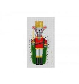 Susan Roberts Mouse King Nutcracker ornament<br />6&quot; high