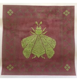 Whimsy &amp; Grace Bee - Aubergine &amp; Lime<br />