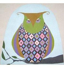 Zecca Argyle owl Tea Cozy