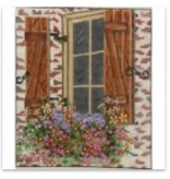 "Alice Peterson Country Window 7 1/8""x9"""
