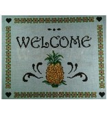 "Alice Peterson Welcome - Pineapple<br /> 12"" x 10"""