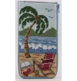 Alice Peterson At The Beach - Eye Glass Case