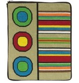 Alice Peterson Stripes & Circles IPAD Case