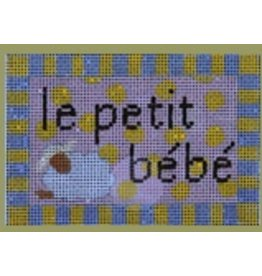 "Colors of Praise Le Petit Bebe 4""x2.75"""