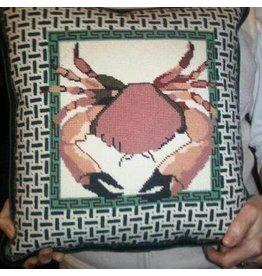 Alice VanTrese Stone Crab<br />14.5&quot;x14.5&quot;