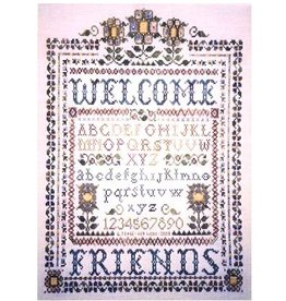 Custom House A Victorian Welcome chartpack - Crossstitch