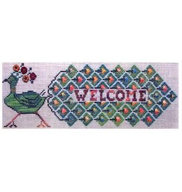 Custom House A Plain and Fancy Peacock - chartpack cross stitch
