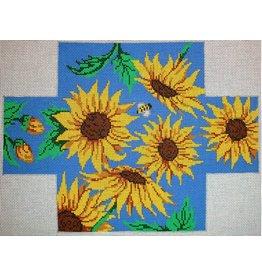 Patti Mann Sunflowers - Brick Cover