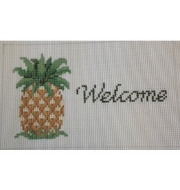 Susan Roberts &quot;Welcome&quot; Pineapple sign<br />