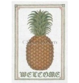 Susan Roberts Pineapple Welcome Sign<br />