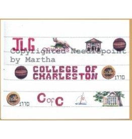 Martha College of Charleston belt